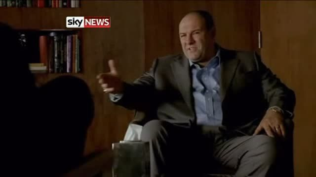 News video: James Gandolfini played Tony in the The Sopranos