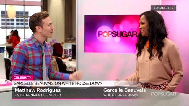 News video: Video: White House Down Star Garcelle Beauvais